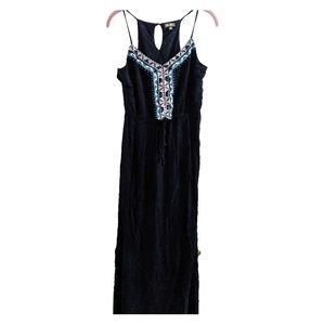 Lily Rose sz L navy razorback dress